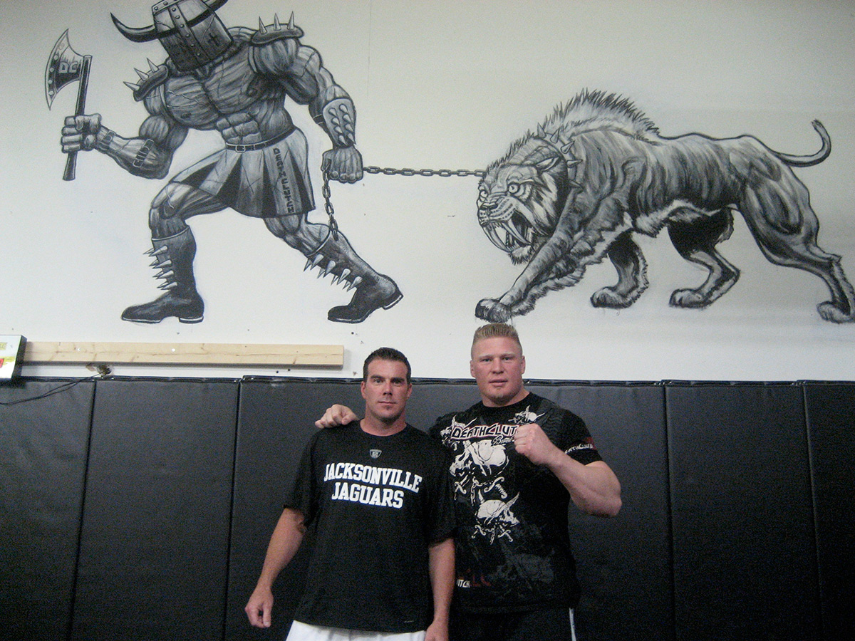 2009_brock_lesnar_ufc_mural_2_richesson_sports_art